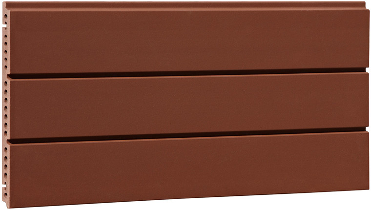 Supply Grooved Finished Wall Cladding Terracotta Tiles