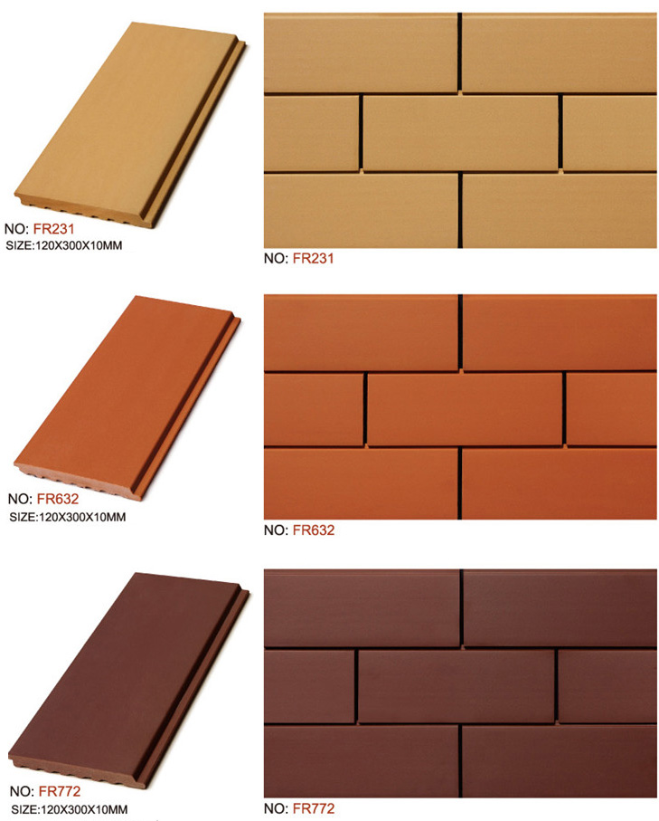 Exterior Wall Terracotta Clay Tile