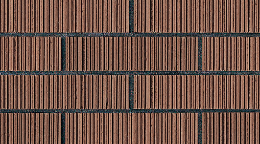 Supply Brown Upright Thin Brick Panels Never Fade Brown