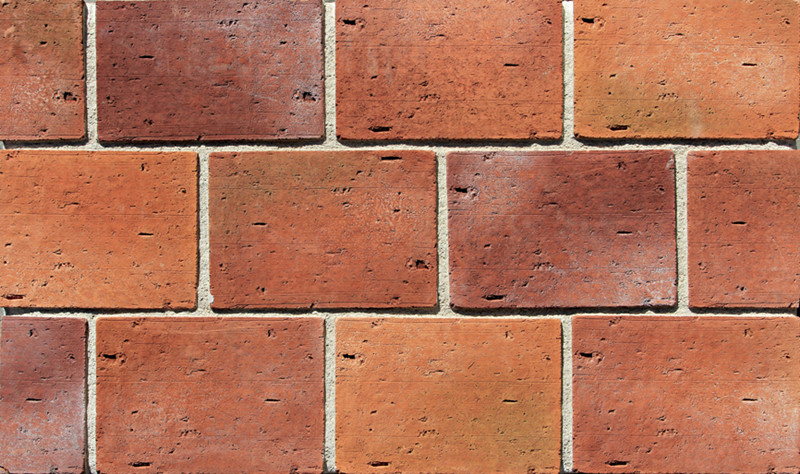 Red Color Exterior Wall Cultured Brick Vneer