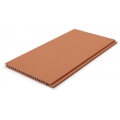 Red Wall Facade Terracotta Panel Curtain Wall