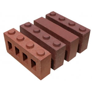 Classic Red Wall Brick Covering
