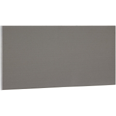 Solid Grey Terracotta Wall Cladding Panel