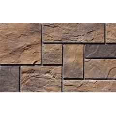 Fexible Indoor Faux Stacked Stone