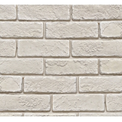 Flexible White Brick Facing Tiles