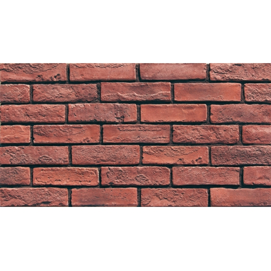 Non Combustible Red Brick Effect Wall Tiles