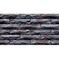 Metallic Natural Brick Tiles