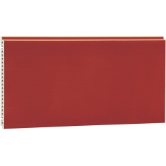Red Glazed Terracotta Exterior Facade Panels
