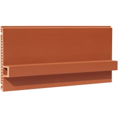 Terracotta Rainscreen Panel Baguette