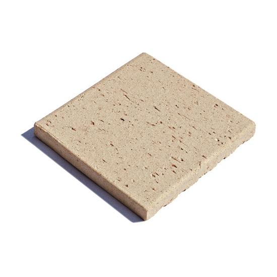 Supply Fireproof Beige Clay Flooring Tiles Fireproof Beige Clay