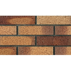 Brown Panel Brick Wall