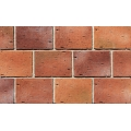 Red Color Exterior Wall Cultured Brick Veneer