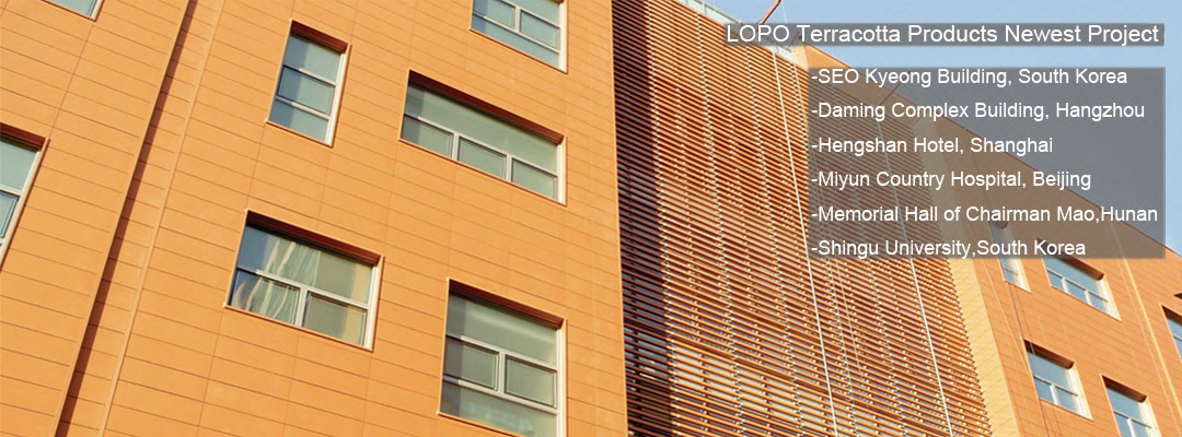LOPO Terracotta Products Newest Project